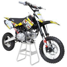 M2R Racing KM160MX 160cc 82cm Yellow Pit Bike