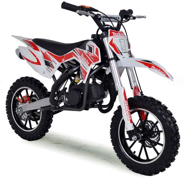 FunBikes MXR 50cc 61cm Red Kids Mini Dirt Motorbike
