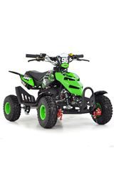 FunBikes 49cc Green Kids Mini Quad Bike
