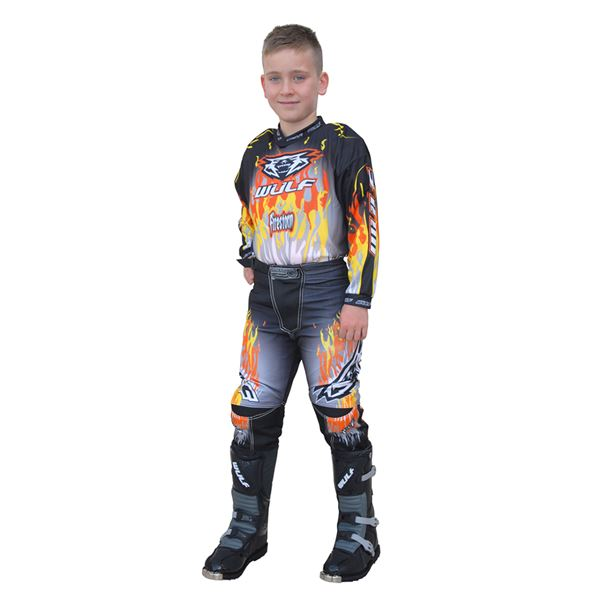 Wulfsport Firestorm Cub Race Shirt Orange