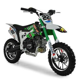 FunBikes Cobra 4S 50cc 62cm Green Kids Mini Dirt Bike