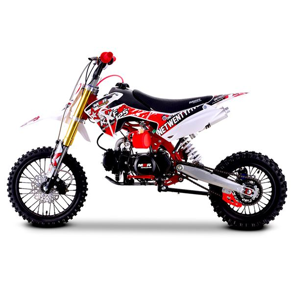 M2R Racing KXF125 120cc 76cm Red Pit Bike