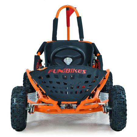 FunBikes Funkart 79cc Orange Kids Mini Go Kart