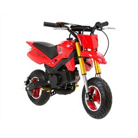 FunBikes Super Motard 50cc 48cm Red Mini Moto Bike