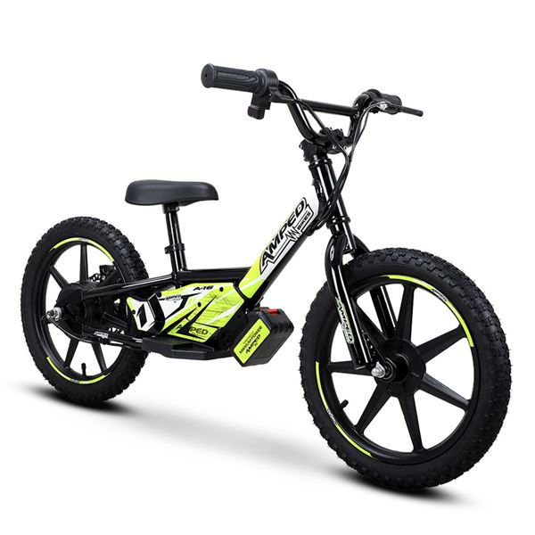 Amped A16 Black 100w Electric Kids Balance Bike
