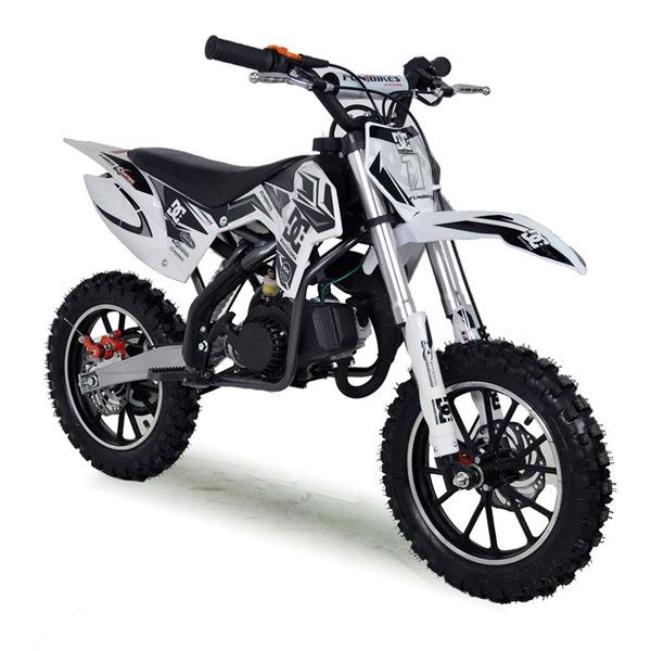 FunBikes MXR 50cc 61cm Black Kids Mini Dirt Bike
