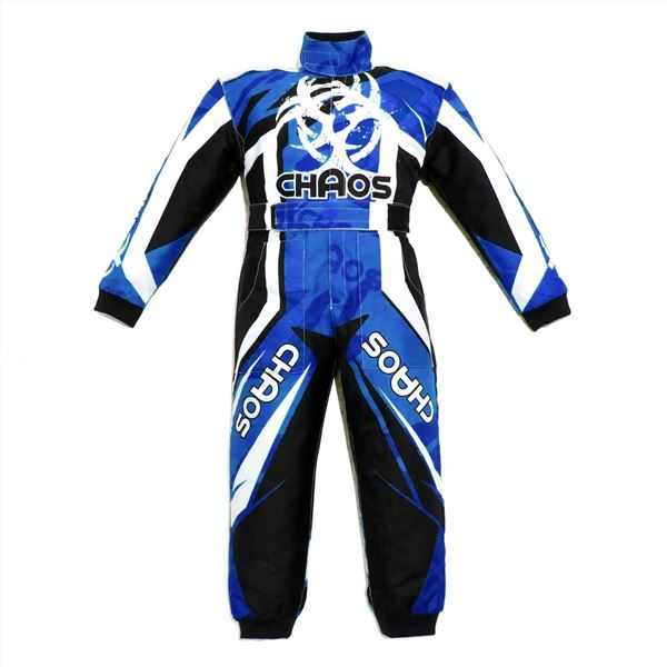 Chaos Toddlers Off Road Motocross Suit Blue