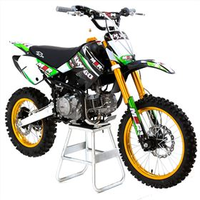 M2R Racing KMX160 160cc 17/14 86cm Green Carbon LE Dirt Bike