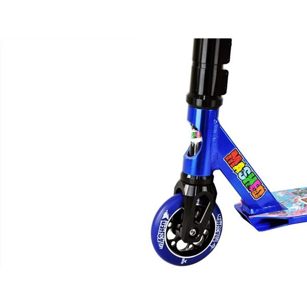 MASHED UP 110mm Extreme Blue Stunt Scooter