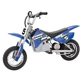 Razor MX350 24v Blue Kids Electric Dirt Bike