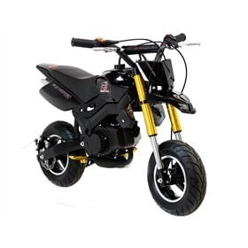FunBikes Super Motard 50cc 48cm Black Mini Moto Bike