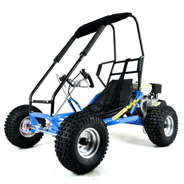 FunBikes The Drift 2  270cc Blue Roll Bar Go Kart