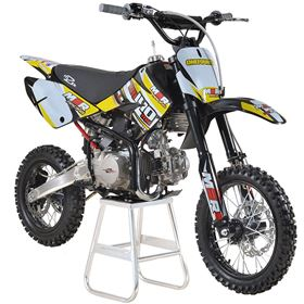 M2R Racing KM140MX 140cc 82cm Yellow Pit Bike