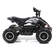 FunBikes Toxic 800w Black White Kids Electric Mini Quad Bike