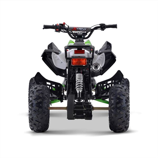 FunBikes Xtrax Sport 125cc Petrol Green Junior Quad Bike