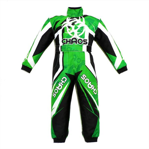 Chaos Toddlers Off Road Motocross Suit Green