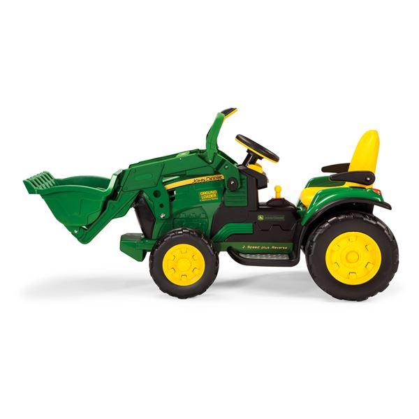 Peg Perego John Deere 12v Ground Loader Ride On Tractor