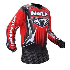 Wulfsport Arena Race Shirt Red