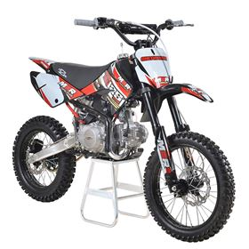 M2R Racing KM125MX 125cc 17/14 86cm Red Dirt Bike