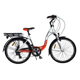 Batribike Diamond Pro 250w LCD Orange Electric Commuter Bike