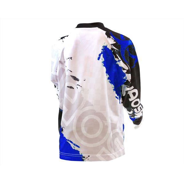 Chaos Kids Off Road Race Shirt Blue