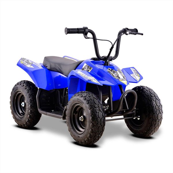 Funbikes 24v 250w Bambino Blue Kids Electric Quad Bike