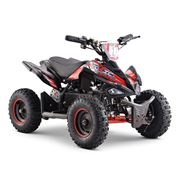 FunBikes Toxic 800w Black/Red Kids Electric Mini Quad Bike V2