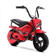 FunBikes MB 43cm Motorbike 250w Red Electric Kids Monkey Bike