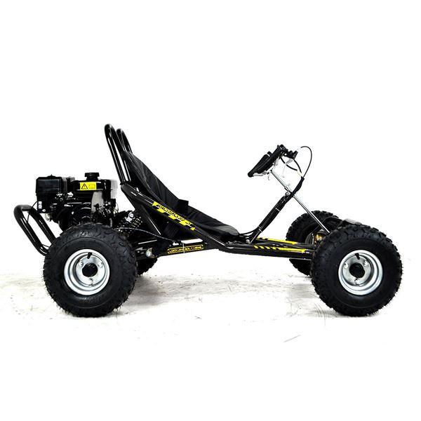 FunBikes The Drift 2 200cc Black Go Kart