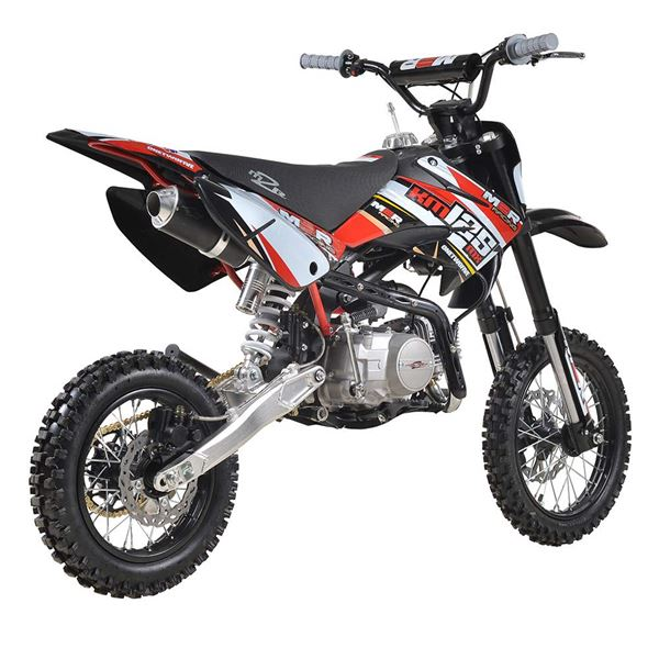 M2R Racing KM125MX 125cc 82cm Red Pit Bike