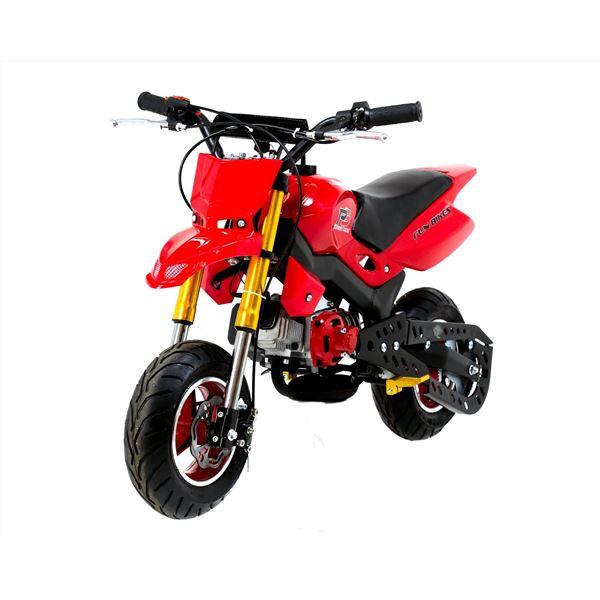 funbikes super motard 50cc 48cm red mini moto bike. Black Bedroom Furniture Sets. Home Design Ideas