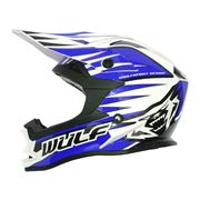 Wulfsport Advance Adult Motocross Helmet Blue