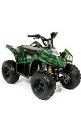FunBikes Tino Rally 90cc Camo Childs Quad Bike