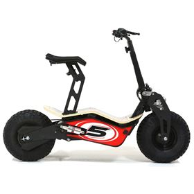 Velocifero MAD 48 Volt 1600W Red No 5 Electric Scooter