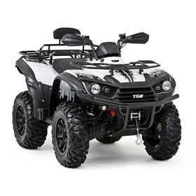TGB Blade 550SE EFI IRS 4x4 White Utility Road Legal Quad Bike
