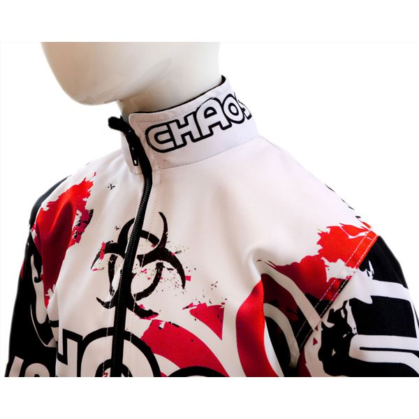 Chaos Kids Off Road Jacket Red