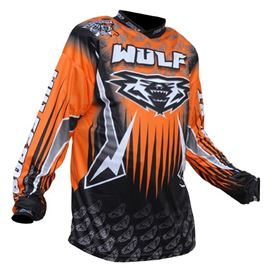 Wulfsport Arena Race Shirt Orange