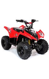 FunBikes Tino Rally 90cc Red Childs Quad Bike