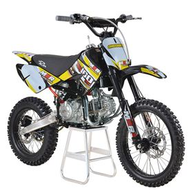 M2R Racing KM160MX 160cc 17/14 86cm Yellow Dirt Bike