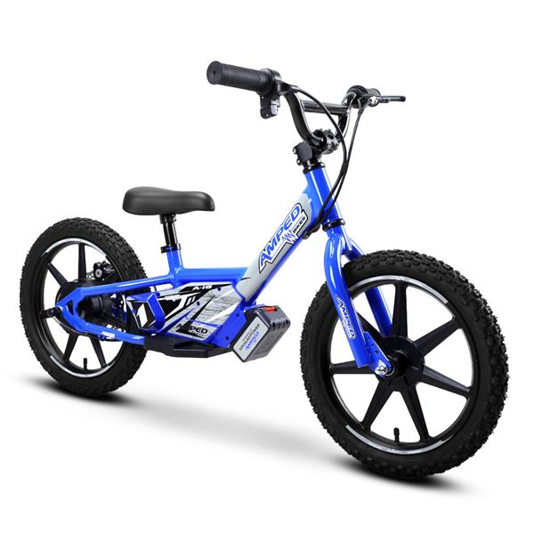 Amped A16 Blue 120w Electric Kids Balance Bike