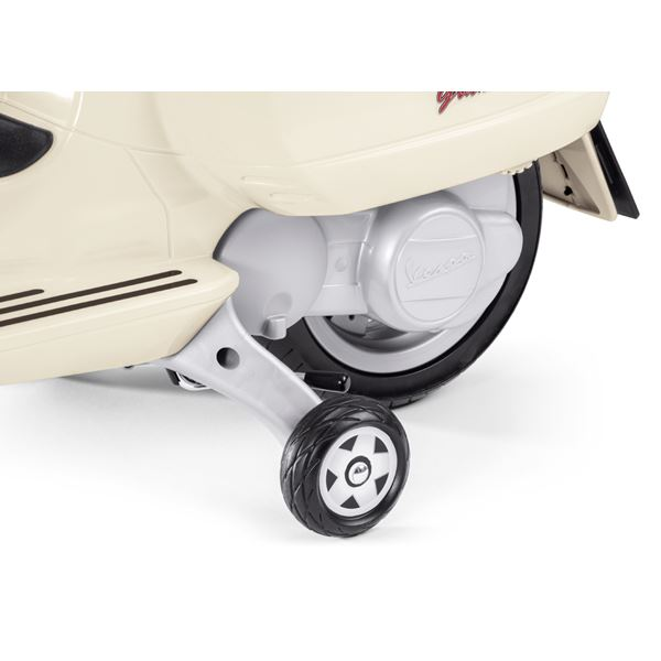 Peg Perego Vespa with Case 12v Kids Electric Motorcycle