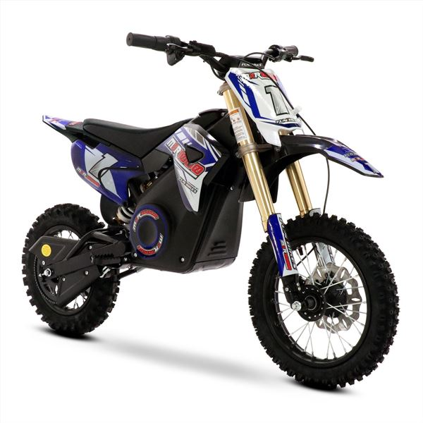 Wondrous Funbikes Mxr 1000W Lithium Electric Motorbike 65Cm Blue Kids Dirt Bike Onthecornerstone Fun Painted Chair Ideas Images Onthecornerstoneorg