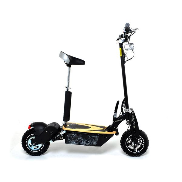 Chaos Sport 48 Volt 1600W Electric Scooter Big Wheel Off Road Powerboard
