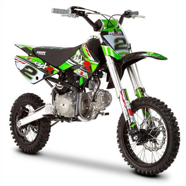 M2r Racing Kmxr125 125cc 82cm Green Pit Bike