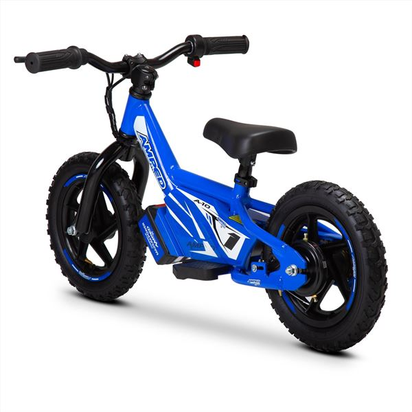 Amped A10 Blue 100w Electric Kids Balance Bike