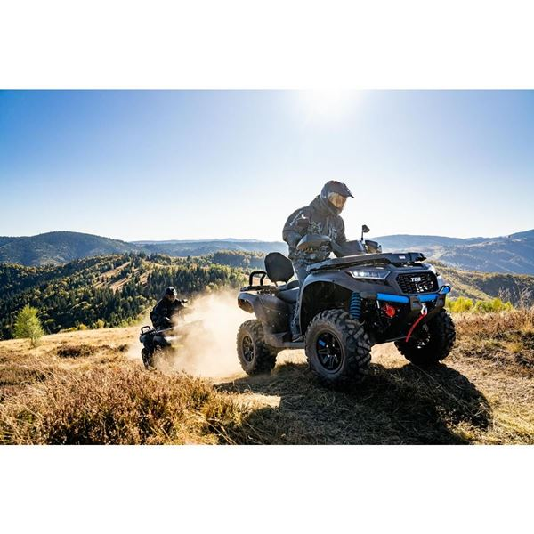 TGB Blade 600LTX 560cc 4x4 Black Road Legal Utility Quad Bike