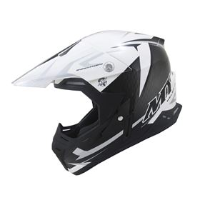 MT Synchrony Steel Crash Helmet Black/White/Grey