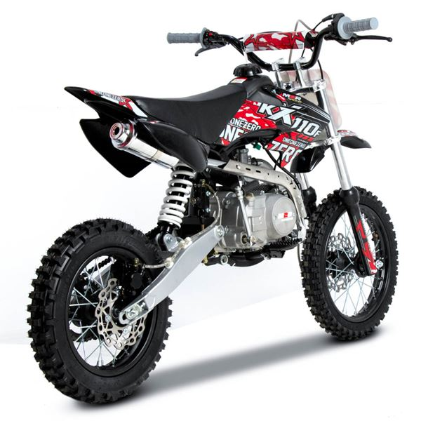 M2R Racing KX110F 110cc 76cm Red Pit Bike