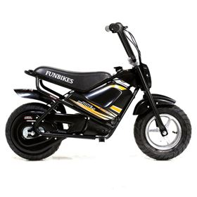 FunBikes MB 43cm Black 250w Electric Kids Monkey Bike