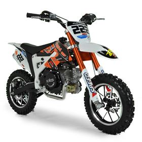FunBikes Cobra 4S 50cc 62cm Orange Kids Mini Dirt Bike